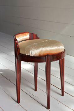 virginia blanchard art deco revival stool