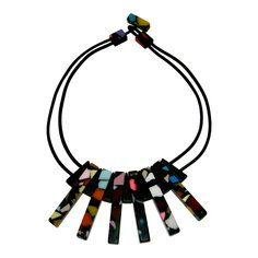 Art Deco Statement Necklace by Sobral, $65, now featured on Fab.