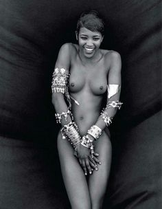Naomi Campbell - Vogue Italia by Peter Lindbergh, 1988 #Iconic