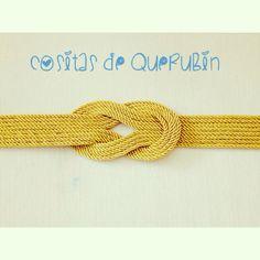 Cinturon nudo marinero cordon de seda 25€. Envios a toda España 1,50€