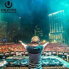Hardwell live @ Ultra Music Festival Miami 30-03-2014