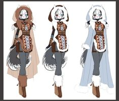 Anime Winter Clothes Cartoon Cold Styles 22067wall.jpg