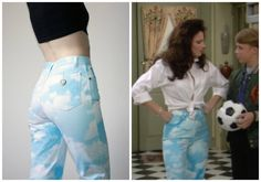 What Fran Wore: Moschino cloud pants