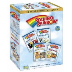 Favorite show as a child = Reading Rainbow