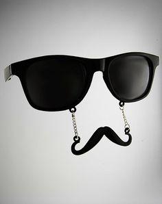 sun glasses mustache