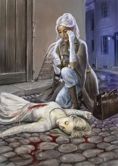 Sandrivishtai by dashinvaine. on -Her best friend lay on the. - Sandrivishtai by dashinvaine.devia… on -Her best friend lay on the warm stone ground, - Anime Art Fantasy, Dark Fantasy Art, Fantasy Books, Fantasy Artwork, Fantasy World, Fantasy Images, Character Concept, Character Art, Concept Art
