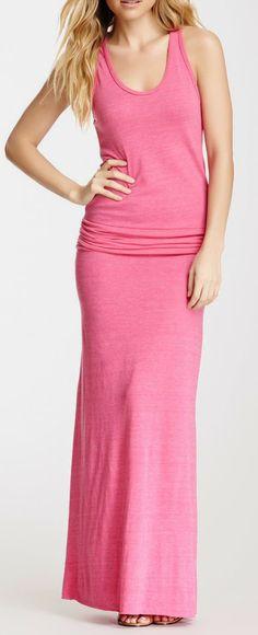 Go Fish Maxi Dress..love it! What a color!