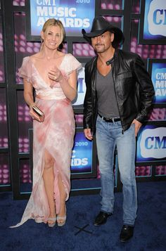 Faith and Tim - 2010 CMT Music Awards