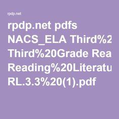 rpdp.net pdfs NACS_ELA Third%20Grade Reading%20Literature RL.3.3%20(1).pdf