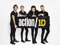 One Direction busca cambiar el mundo con action/1D