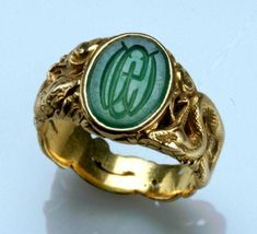 'Durand and Company Ring,' ca. 1897, Newark Museum. Possibly designed by Gustav Manz