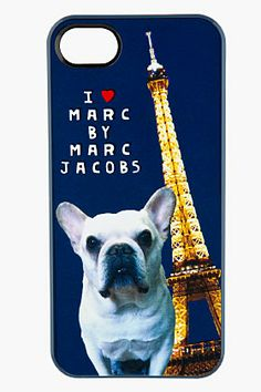 MARC BY MARC JACOBS Navy Jet Set Pets Pickles iPhone 5 Skin