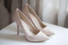 buty ślubne, wedding shoes Eleganckie, klasyczne beżowe czółenka dla stylowej Panny Młodej :)