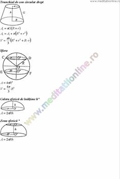 Formule matematica gimnaziu 5 8 Formule si teorie Geometrie plana si in spatiu si Trigonometrie pagina 14 Desktop, Marvel, Chart, Beauty, Geometry, Trigonometry, Studying, Beauty Illustration