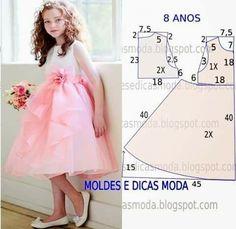 10 patrones de vestidos para niñas - hecho a mano