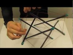 ▶ How to build a Tensegrity Model - LATTC - YouTube