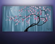 Abstract Painting Large Painting Asian by GabrielaStauffer on Etsy
