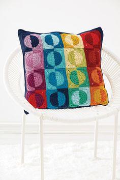 crochet motifs | poppyandbliss Crochet Squares, Crochet Granny, Crochet Motif, Crochet Patterns, Modern Crochet, Crochet Home, V Stitch Crochet, Granny Square Blanket, Granny Squares