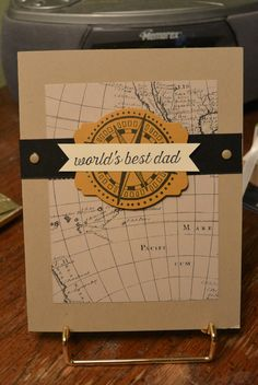 Father's day card -cased