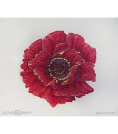 Square By Design-Poppy 25in pillow