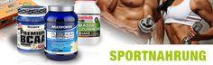 Sportnahrung - Bodybuilding Supplements für Bodybuilder - Protein - Kreatin - Aminos - Weigt Gainer - Vitamine - Fitness und Bodybuilding-Markenprodukte