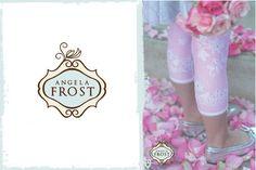 "girls Angela Frost leggings with ""sprinkles"" from honeypiekids.com"