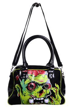 Banned Zombie Bag | Gothic Clothing | Emo clothing | Alternative clothing | Punk clothing - Chaotic Clothing