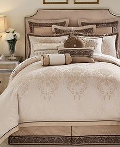 Waterford Bedding, Aileen Queen Duvet Cover - Duvet Covers - Bed & Bath - Macy's
