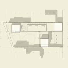 Casa Maroje On a flat terrain of sq ft, a sober assembly of white concrete boxes and bamboo flush panels is located where main programmatic areas are needed. White Concrete, Sober, Building Design, Bamboo, Floor Plans, Sketches, Flat, Studio, Architecture