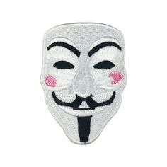 V for Vendetta Individuality Hat patches Embroidered Iron-On Patches sew on patches meet you on Fleckenworld.com