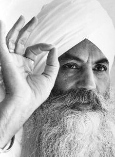 Yogi Bhajan. Our teacher.