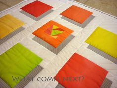 shadows see site for lots of quilts & stitching details… 3d Quilts, Scrappy Quilts, Easy Quilts, Quilt Block Patterns, Quilt Blocks, Quilting Projects, Quilting Designs, Optical Illusion Quilts, Quilt Modernen