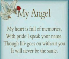 ♥ GRIEF SHARE: Plantation United Methodist Church, 1001 NW 70 Avenue, Plantation, FL 33313. (954) 584-7500. ♥ My daughter, my angel
