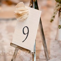 Canvas Table Numbers