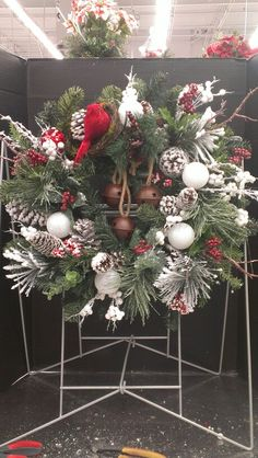 Country Christmas Bells Wreath...Robin Evans