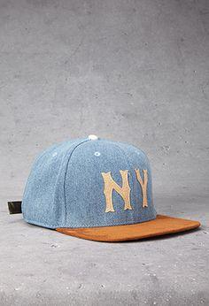 NY Denim Cap