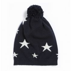 Perfect stocking filler.  Exclusive to our website.  http://www.chintiandparker.com/uk/star-intarsia-bobble-hat-cp380n1