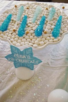 Frozen Birthday party food ideas for a Disney Frozen birthday party. Frozen Themed Birthday Party, 6th Birthday Parties, 4th Birthday, Birthday Ideas, Queen Birthday, Birthday Cakes, Frozen Party Food, Disney Frozen Birthday, Frozen Themed Food