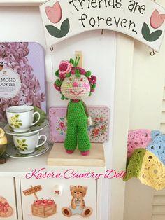 Amigurumi Doll, Dinosaur Stuffed Animal, Dolls, Country, Crochet, Animals, Baby Dolls, Animales, Rural Area