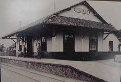 Estação de Pinhais [Pinhaes]. Década de 1920.