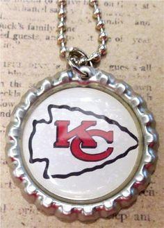 KC Chiefs Arrowhead Necklace