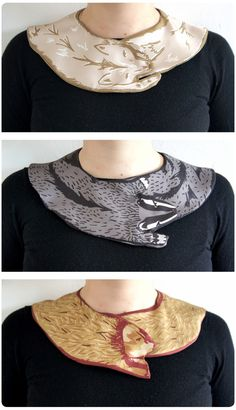 collars - I think these are great.  I want some to use with my long sleeve tees!