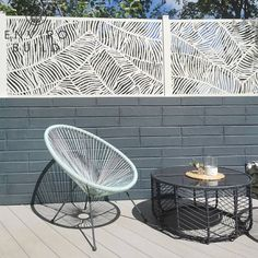 Life is all about simple pleasures, something @the_burthill_build has taken to heart. This corner on their patio is the perfect spot to enjoy a simple cup of coffee on a sunny morning. The wicker chair and tables and the intricate design of the fencing compliment their Hyperion Pioneer Decking in Silver Birch beautifully, creating a space where you'd want to hang out from dawn till dusk. Peruse our decking samples and find the perfect design for your spot in the sun. Pioneer Decks, Outside Living, Composite Decking, Simple Pleasures, Fencing, Dusk, Hanging Out, Birch, Coffee Cups