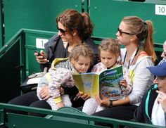 Twitter / Sofia__RF: Their cute little faces! Federer ...