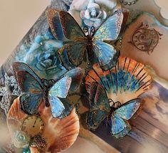 Butterfly Set  Mystical Butterflies  Scrapbook by Reneabouquets, $3.75