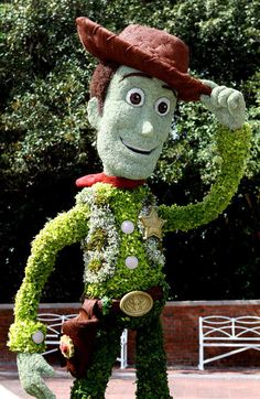 Woody Topiary - 2012 Epcot International Flower & Garden Festival