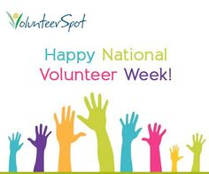 Whether you're getting in the spirit by giving back this week, or taking time to thank the volunteers in your life, have an awesome National Volunteer Week - here's to you! Volunteer Week, Volunteer Quotes, Volunteers Needed, Parent Volunteers, Wall Quotes, Words Quotes, Field Day Games, Volunteer Appreciation, Single Words