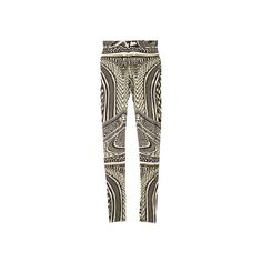 Givenchy par Riccardo Tisci leggings ❤ liked on Polyvore