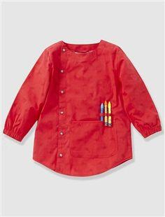 Bata escolar estampada niño (17,90€) Vertbaudet