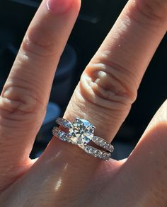 M starting to hate my tiffany harmony e-ring - weddingbee Small Engagement Rings, Traditional Engagement Rings, Cushion Cut Engagement Ring, Tungsten Wedding Rings, Diamond Wedding Rings, Wedding Bands, Tiffany Engagement, Tiffany Wedding, Heart Shaped Diamond Ring